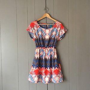 Francesca's Aztec Mini Dress